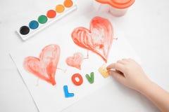 Επιστολές αγάπης Στοκ φωτογραφία με δικαίωμα ελεύθερης χρήσης