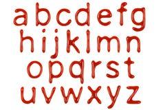 Επιστολές 3 κέτσαπ στοκ εικόνα με δικαίωμα ελεύθερης χρήσης