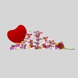Επιστολές της αγάπης Στοκ φωτογραφίες με δικαίωμα ελεύθερης χρήσης