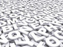 Επιστολές του αγγλικού αλφάβητου. Στοκ φωτογραφία με δικαίωμα ελεύθερης χρήσης