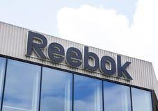 Επιστολές reebok στην έδρα στο Άμστερνταμ Στοκ εικόνα με δικαίωμα ελεύθερης χρήσης