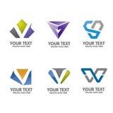 Επιστολή Β διάνυσμα έννοιας λογότυπων Στοκ εικόνες με δικαίωμα ελεύθερης χρήσης