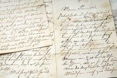 επιστολή παλαιά Στοκ εικόνα με δικαίωμα ελεύθερης χρήσης