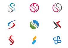 Επιστολή του S και λογότυπο του S διανυσματική απεικόνιση