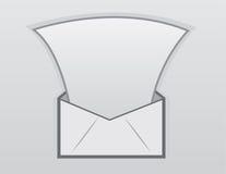 Επιστολή φακέλων ελεύθερη απεικόνιση δικαιώματος