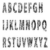 Επιστολή alfabet-ανακούφισης Στοκ φωτογραφία με δικαίωμα ελεύθερης χρήσης