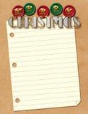 Επιστολή Santa Χριστουγέννων Στοκ φωτογραφίες με δικαίωμα ελεύθερης χρήσης