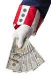 Επιστροφή κυβερνητικών χρημάτων Στοκ Εικόνες
