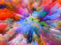 Επιτάχυνση του υπερφυσικού χρώματος Στοκ φωτογραφίες με δικαίωμα ελεύθερης χρήσης