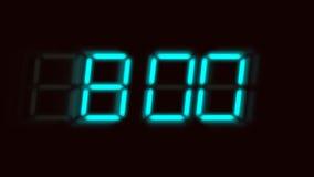 Επιταχυνόμενο ψηφιακό ρολόι διανυσματική απεικόνιση