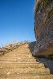 Επιταχύνει στο βράχο Dabo Στοκ φωτογραφίες με δικαίωμα ελεύθερης χρήσης