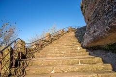Επιταχύνει στο βράχο Dabo Στοκ φωτογραφία με δικαίωμα ελεύθερης χρήσης