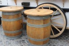 Επιτραπέζια βαρέλια Στοκ φωτογραφίες με δικαίωμα ελεύθερης χρήσης