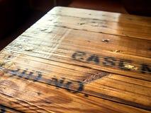 επιτραπέζια κορυφή ξύλινη Στοκ φωτογραφία με δικαίωμα ελεύθερης χρήσης