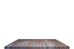 Επιτραπέζια κορυφή στην απομόνωση Στοκ Εικόνες