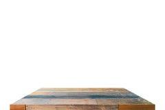 Επιτραπέζια κορυφή στην απομόνωση Στοκ φωτογραφία με δικαίωμα ελεύθερης χρήσης