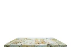 Επιτραπέζια κορυφή στην απομόνωση Στοκ εικόνα με δικαίωμα ελεύθερης χρήσης