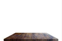 Επιτραπέζια κορυφή στην απομόνωση Στοκ φωτογραφίες με δικαίωμα ελεύθερης χρήσης