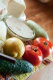 επιτραπέζια λαχανικά Στοκ φωτογραφία με δικαίωμα ελεύθερης χρήσης