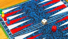 Επιτραπέζια παιχνίδια - τάβλι Στοκ φωτογραφίες με δικαίωμα ελεύθερης χρήσης