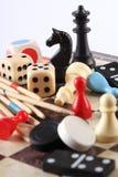 Επιτραπέζια παιχνίδια Στοκ Φωτογραφίες