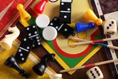 Επιτραπέζια παιχνίδια Στοκ εικόνα με δικαίωμα ελεύθερης χρήσης