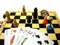 επιτραπέζια παιχνίδια Στοκ Εικόνα