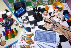 Επιτραπέζια παιχνίδια στοκ εικόνες με δικαίωμα ελεύθερης χρήσης