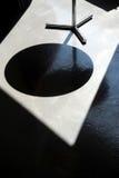 Επιτραπέζια σκιά Στοκ εικόνες με δικαίωμα ελεύθερης χρήσης