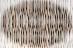 Επιτραπέζια χαλιά μπαμπού στο σύντομο χρονογράφημα Στοκ Φωτογραφίες