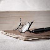 επιτραπέζιες εντάσεις του ήχου βιβλίων Στοκ Φωτογραφία