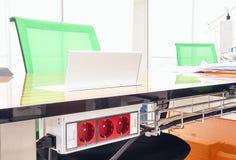 Επιτραπέζιες λεπτομέρειες γραφείων Στοκ Φωτογραφίες