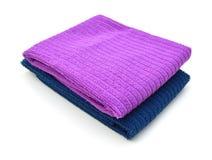 Επιτραπέζιες πετσέτες του υφάσματος Στοκ Εικόνα