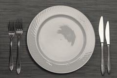 Επιτραπέζιοι διορισμοί στο εστιατόριο στοκ φωτογραφία με δικαίωμα ελεύθερης χρήσης