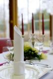 επιτραπέζιος γάμος διακοσμήσεων Στοκ Εικόνες