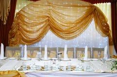 επιτραπέζιος γάμος λήψης & Στοκ φωτογραφία με δικαίωμα ελεύθερης χρήσης
