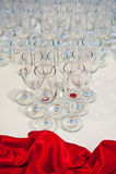 επιτραπέζιος γάμος λήψης & Στοκ Φωτογραφίες