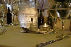 επιτραπέζιος γάμος Στοκ Εικόνα