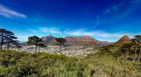 Επιτραπέζιο βουνό, Καίηπ Τάουν στοκ εικόνες