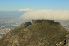 Επιτραπέζιο βουνό, Νότια Αφρική Στοκ φωτογραφία με δικαίωμα ελεύθερης χρήσης