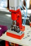 Επιτραπέζιο κόκκινο Τύπου Στοκ εικόνες με δικαίωμα ελεύθερης χρήσης