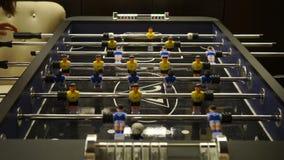 Επιτραπέζιο παιχνίδι ποδοσφαίρου φιλμ μικρού μήκους
