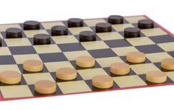 Επιτραπέζιο παιχνίδι ελεγκτών Στοκ Εικόνα