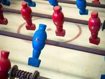 Επιτραπέζιο παιχνίδι ποδοσφαίρου στοκ φωτογραφίες με δικαίωμα ελεύθερης χρήσης