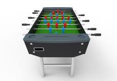 Επιτραπέζιο παιχνίδι ποδοσφαίρου Foosball Στοκ φωτογραφία με δικαίωμα ελεύθερης χρήσης