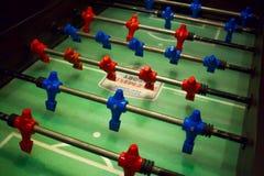 Επιτραπέζιο ποδόσφαιρο στο δωμάτιο παιχνιδιών στοκ φωτογραφία με δικαίωμα ελεύθερης χρήσης