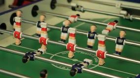 Επιτραπέζιο ποδόσφαιρο, foosball απόθεμα βίντεο