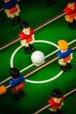 επιτραπέζιο ποδόσφαιρο Στοκ Φωτογραφίες