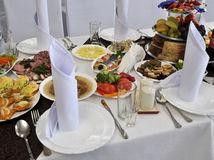 Επιτραπέζιο σκεύος για banquet_4 Στοκ εικόνα με δικαίωμα ελεύθερης χρήσης