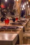 επιτραπέζιο τραπεζομάντιλο τηγανιτών γευμάτων χαβιαριών Στοκ Εικόνες